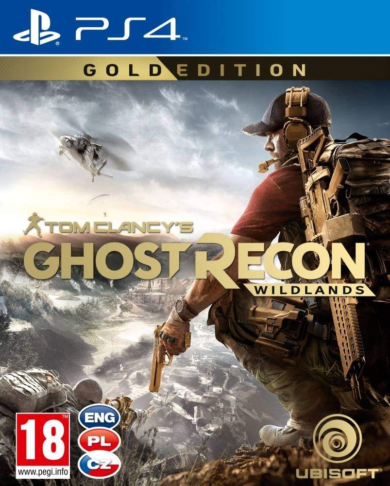 Tom Clancys Ghost Recon Wildlands Gold Edition PL (PS4)